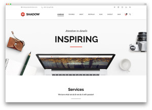 WEB shanow-clean-flat-design-theme