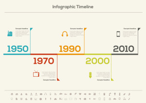 Infographic-Timeline-Icons-Vector
