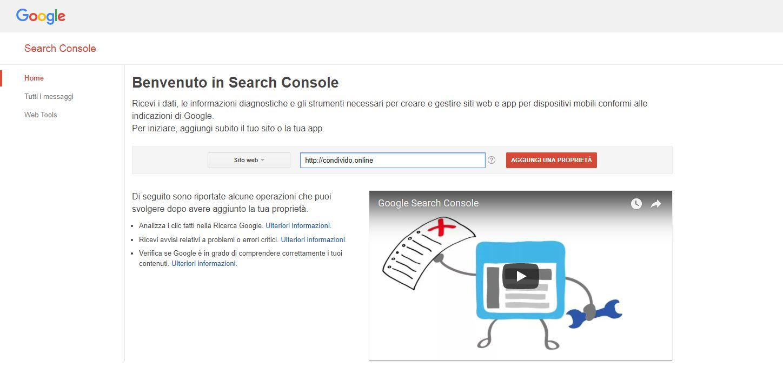 google-search-console-inserimento-prima-proprietà